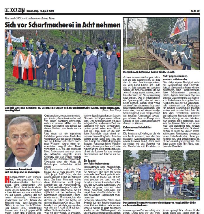 Fridolin-Donnerstag-10.April-2008-Näfelser-Fahrt-Seite-1