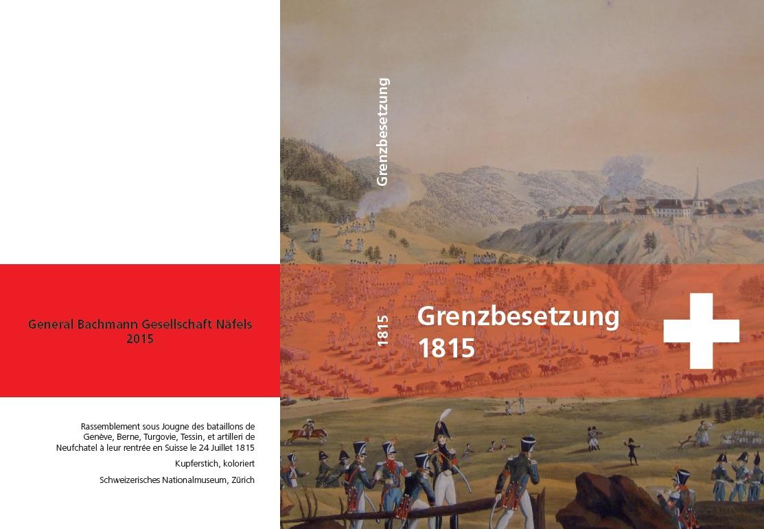 1815 Grenzbesetzung - Umschlag