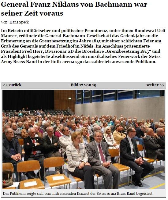 Bericht glarus24.ch