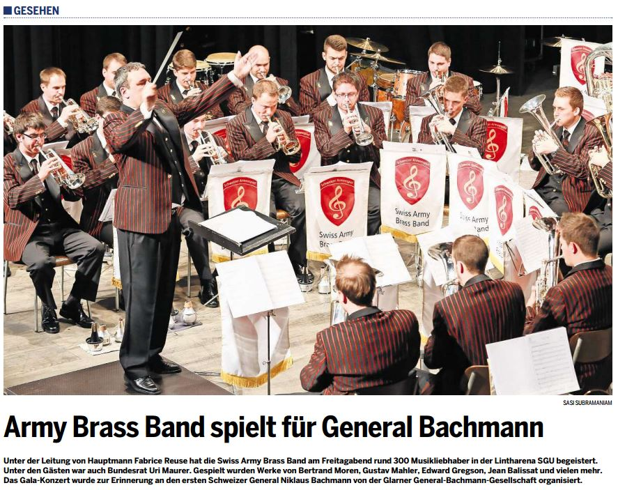 Foto Swiss Army Brass Band