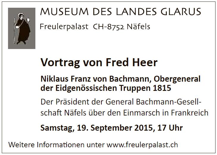 Vortrag Fred Heer