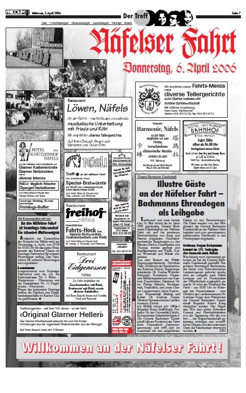 Fridolin-Donnerstag-5.April 2006-Näfelser Fahrt Seite