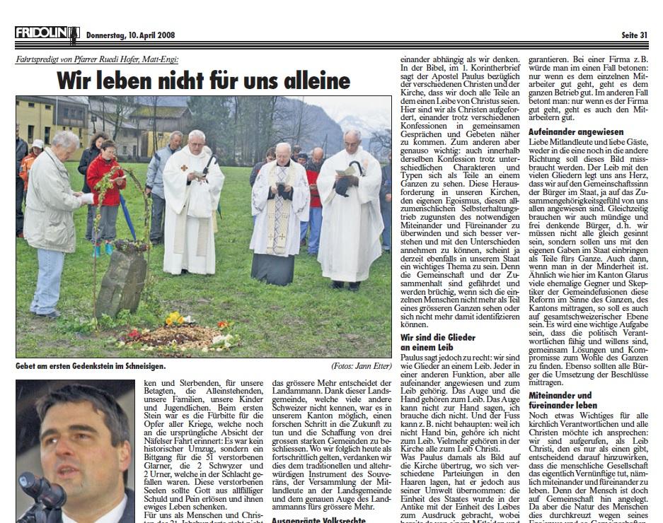 Fridolin-Donnerstag-10.April 2008-Näfelser Fahrt Seite 2